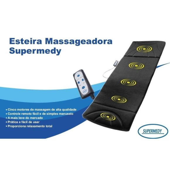 Esteira Massageadora Supermedy