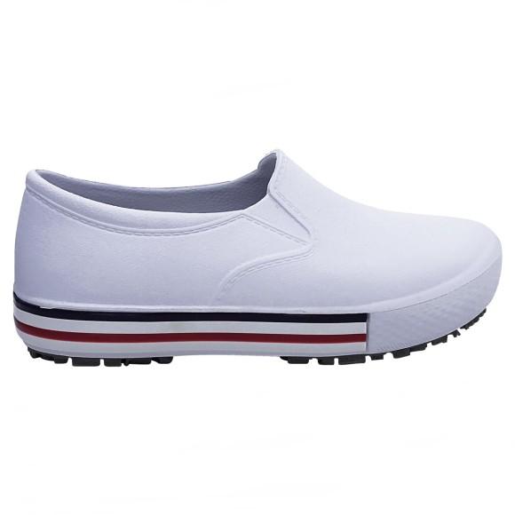 Sapato Antiderrapante BB80-330 Branco - Soft Works