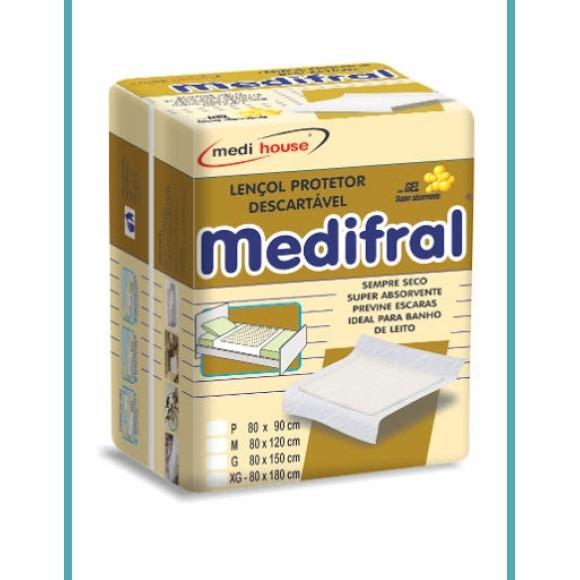 Lençol Descartável Medifral G 6unid.  Medi House