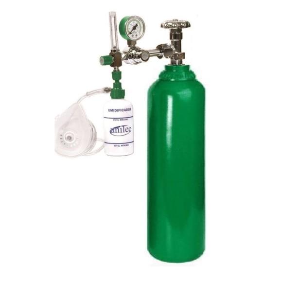 Cilindro Para Oxigenação 3 Litros Com Maleta Portatil