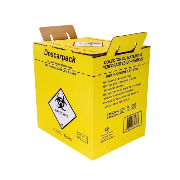 Coletor De  Materiais Perfurantes -  Descarpack